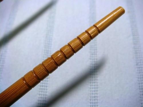 お箸の溝のイメージ写真